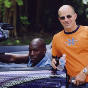 Producer Neal Moritz with Tyrese
