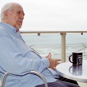 Robert Altman in Malibu, CA poses for Mark Holcomb
