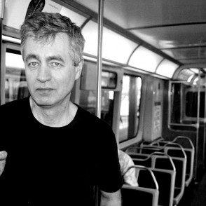 Steve James poses in Chicago for Twenty Seven and a Half Photography