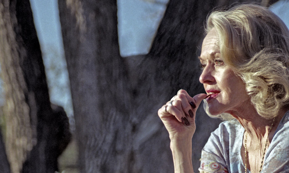 Tippi Hedren in Acton, CA poses for Twenty Seven and a Half Photography