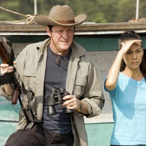 Michael Madsen in Croc