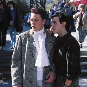 Robert Downey Jr. and Keith Gordon (regular guys) in Back to School
