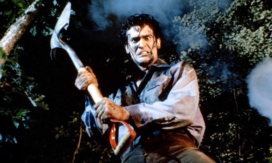 Bruce Campbell, star of The Evil Dead series, is trying to dig it