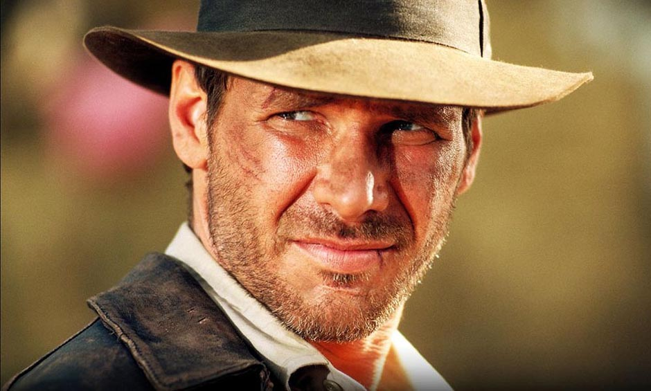 Harrison Ford is Indiana Jones Temple of Doom