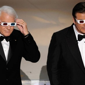 Steve Martin and Alec Baldwin host the 2010 Oscars