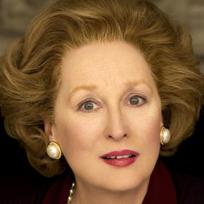 Meryl Streep plays Margaret Thatcher in Iron Lady