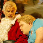 BS2-05175_CROP (l-r) Billy Bob Thornton stars as Willie Soke and Brett Kelly as Thurman Merman in BAD SANTA 2, a Broad Green Pictures release. Credit: Jan Thijs / Broad Green Pictures