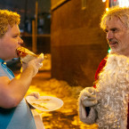 BS2-05271_R (l-r) Brett Kelly stars as Thurman Merman and Billy Bob Thornton as Willie Soke in BAD SANTA 2, a Broad Green Pictures release. Credit: Jan Thijs / Broad Green Pictures